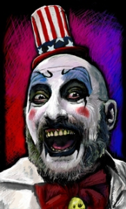 Rob Zombie clown