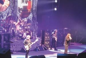 From left: Geezer Butler (bass), Tony Iommi (guitar), Ozzy Osbourne