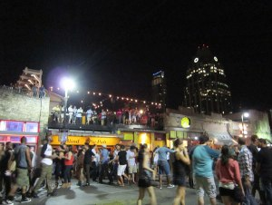 Austin closes off vehicle access to 6th Street during the night on the weekends. The bar-hopping pedestrian party needs all the space it can get.