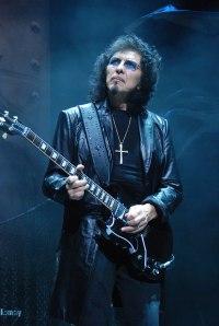 Tony Iommi, lead guitarist and co-founder of Black Sabbath