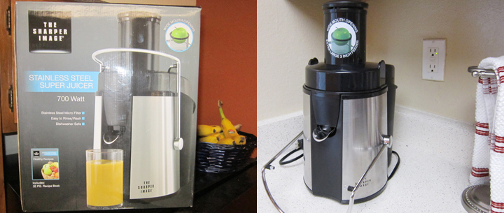A good juicer, and we got it from Sears for a decent price.