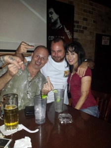 Callaghan, Eddie and me