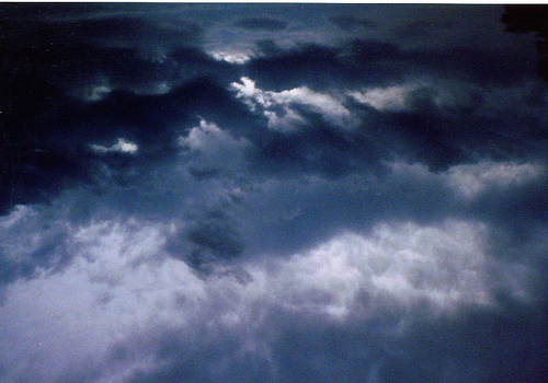 Stormy monsoon sky!
