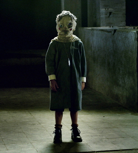 The masked child in The Orphanage
