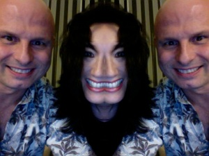 In which Callaghan thinks I look like Michael Jackson