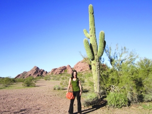 Me and my... cactus!