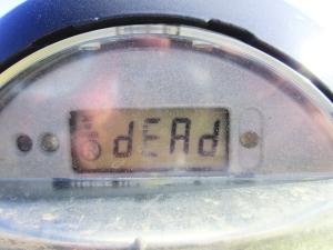 RIP, parking meter.
