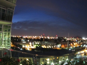 Downtown Tempe (from the seventh-floor deck of W6).