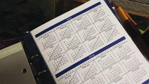 My agenda (Franklin-Covey)