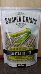 Snapea Crisps! SO GOOD.
