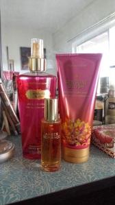 Victoria's Secret VS Fantasies fragrances in Sensual Blush and Amber Romance