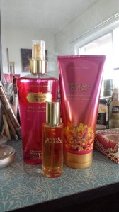 Victoria's Secret VS Fantasies fragrances in Sensual Blush and Amber Romance