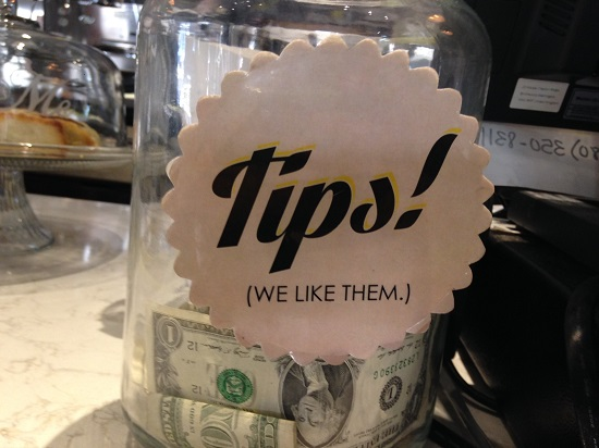 Tips! Why? Because WE LIKE THEM. Thanks for keeping it real, Chop Shop Tempe!