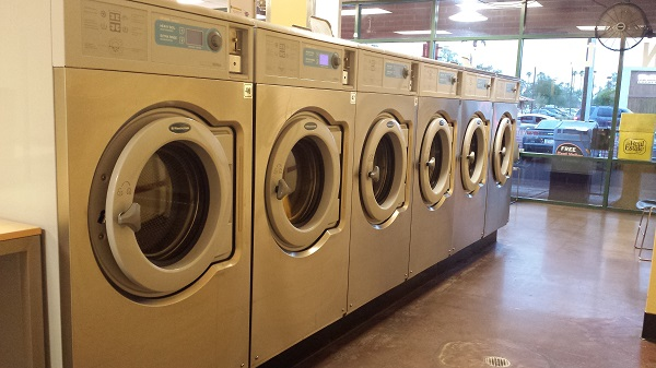 Our neighborhood Laundromat.
