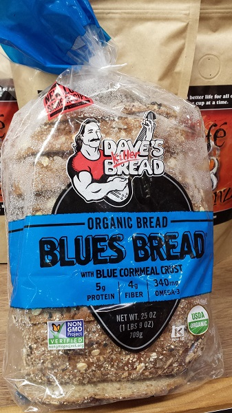 Dave's Killer Bread Blues Bread... it's to die for!