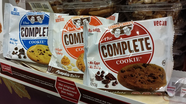 Lenny and Larry's The Complete Cookie in All The Flavors.