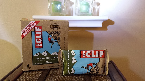 Sierra Trail Mix Clif Bars.