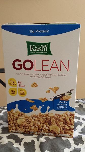 Kashi Go Lean Vanilla Graham Clusters cereal