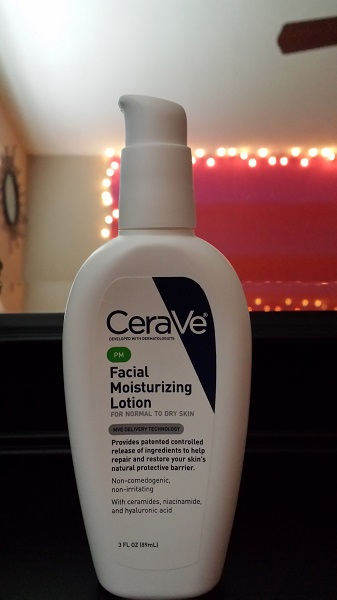 CeraVe PM Facial Moisturizing Lotion for normal to dry skin