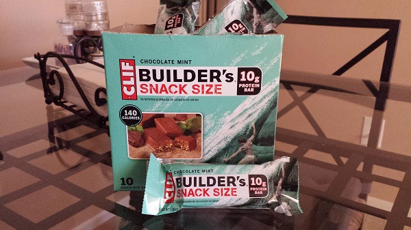 Clif Builder's Chocolate Mint Snack Size protein bar
