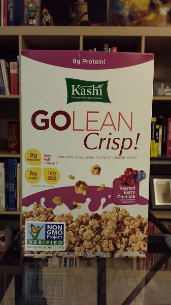 Kashi Go Lean Crisp! Toasted Berry Crumble cereal