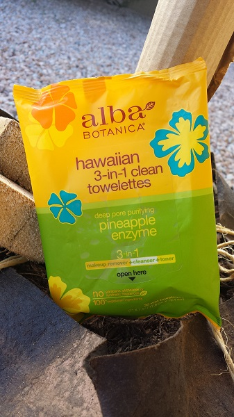 The facial cleansing wipes that changed my life: Alba Botanica's Hawaiian 3-in-1 clean towelettes.