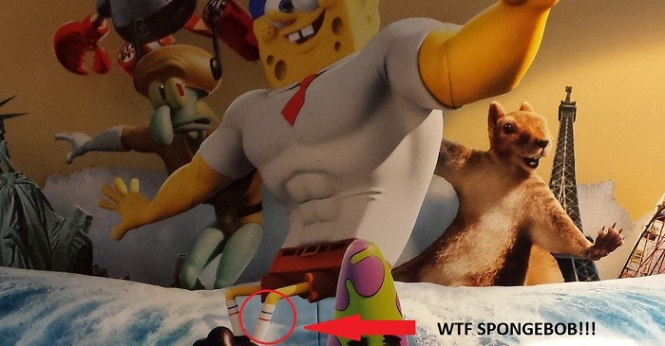THIS IS WHAT HAPPENS WHEN YOU SKIP LEG DAY, SPONGEBOB.