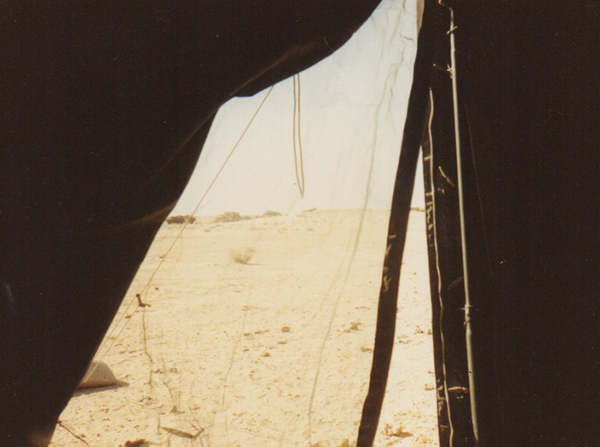 After the ground war in January 1991, this was mostly my view until we left in May.