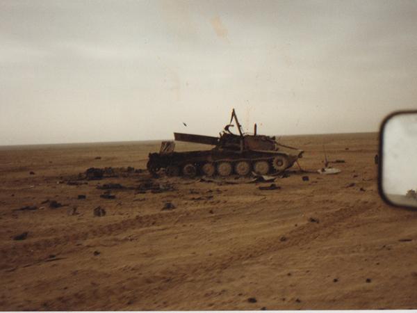Random tank in Iraq