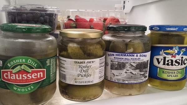 The current dill pickle situation at our house.