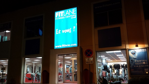 A last look on our way out. Au revoir, FitLane!
