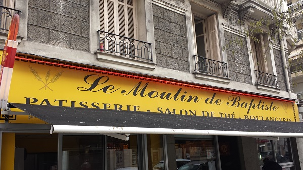 Our favorite boulangerie in Nice.