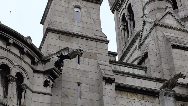 More gargoyles on le Sacré-Coeur...