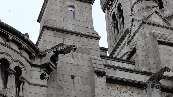 More gargoyles on le Sacré-Coeur...