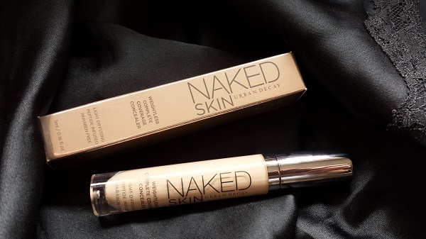Urban Decay Naked Skin Weightless Complete Coverage Concealer (in light neutral) (Black negligee from Victoria's Secret)