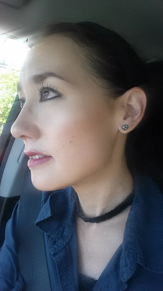 Current favorite earrings - sparkly cluster studs from Target.