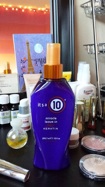 It's a 10 Miracle Leave-in Plus Keratin.