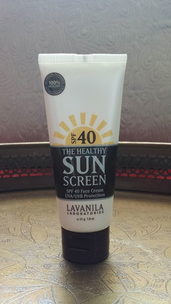 Lavanila Laboratories The Healthy Sunscreen SPF 40 Face Cream