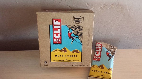 Clif's new flavor: Nuts & Seeds