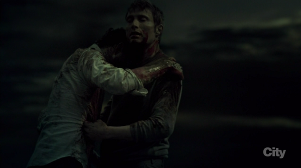 Maybe the most beautiful scene I've ever viewed in a television series. (Hannibal)