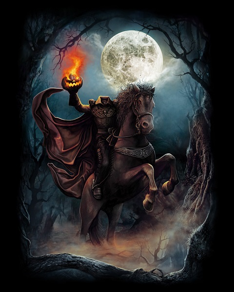 The Headless Horseman.