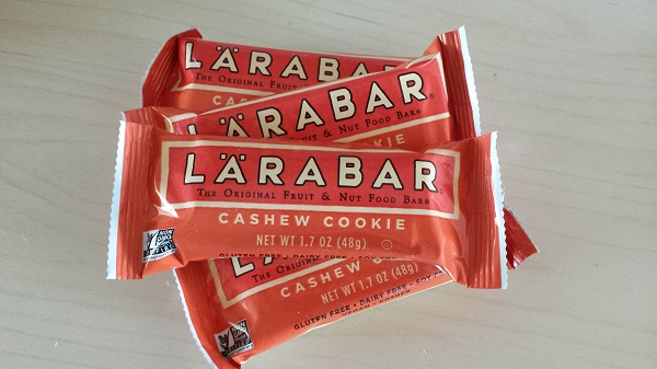 Larabar fruit and nut bars in Cashew Cookie