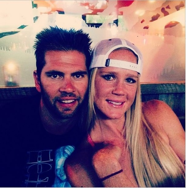 Holly Holm with husband Jeff Kirkpatrick