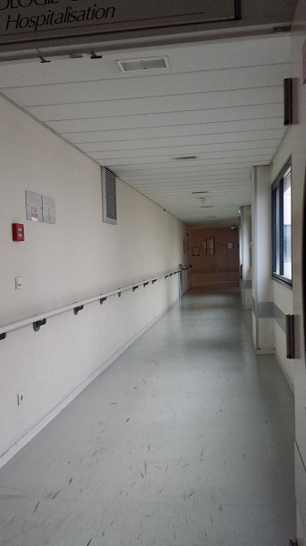 Another deserted hallway