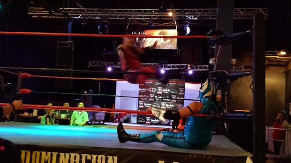 Bout 1 - Action [TALC at Duelo de Dominacon LUCHA LIBRE, AZ Event Center, 2015]