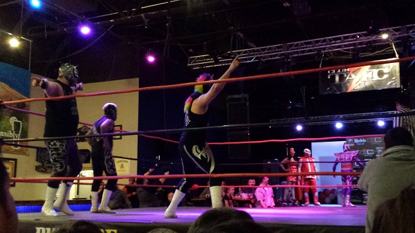 Bout 4 [TALC at Duelo de Dominacon LUCHA LIBRE, AZ Event Center, 2015]