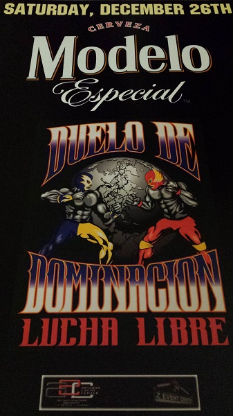 Great night of Lucha Libre! [TALC at Duelo de Dominacon LUCHA LIBRE, AZ Event Center, 2015]