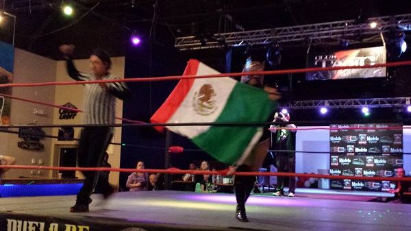 Bout 2 [TALC at Duelo de Dominacon LUCHA LIBRE, AZ Event Center, 2015]