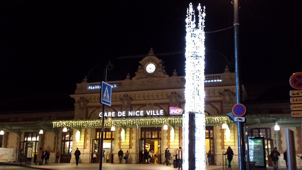 Gare de Nice, the TGV station in Nice