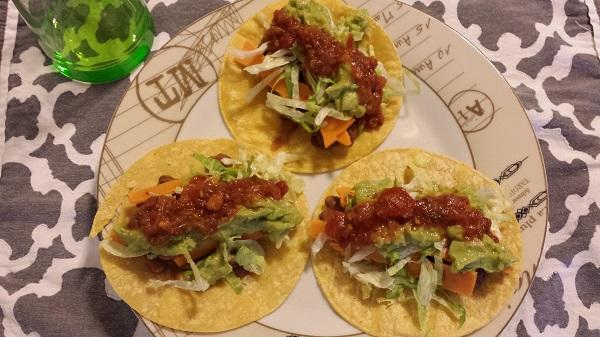 Pinto tacos!
